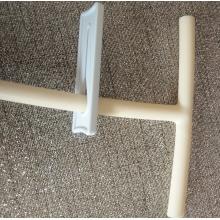 Clipe de deslizamento de tubo médico de plástico braçadeira deslizante