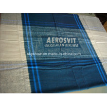 Modacrylic Plaid Travel Blanket (SSB0171)