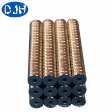 Cylinder Permanent NdFeB magnético material ímã para Moto (DRM-004)