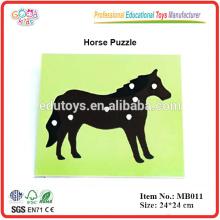 Montessori Toys Biology Puzzle - Horse