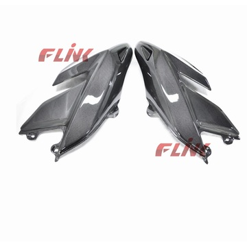 Fibra do carbono da motocicleta parte o carenagem lateral (DHY05) para Ducati Hypermotard