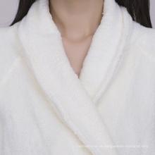 Atacado barato puro hotel de fibra de bambu roupão de banho 100% roupões de banho de bambu marca personalizada