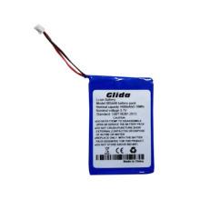 3.7V Li-ion Aluminum Case 1400mAh Battery CE ROHS