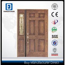 Porta de painel de fibra de vidro com fechadura de porta de hotel