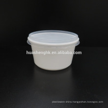 Disposable Plastic Food Container 480ml Microwave Safe