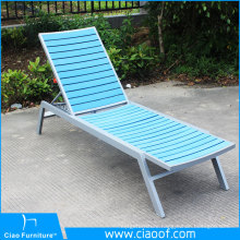 Outdoor Rattan Lounge Furniture Aluminum Sun Lounger Beach Chair