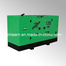 Sistema de generador diesel refrigerado por agua Silent Canopy CUMMINS Engine (GF2-120KW)