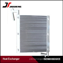 Bar And Plate Excavator Oil Cooler For Sumitomo SH60A1