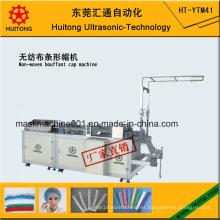 Máquina de fabricación de gorros Bouffant no tejido ultrasónico