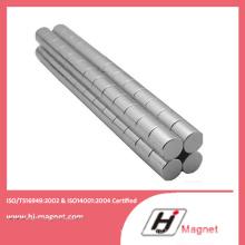 Спеченные редкоземельных постоянного цилиндра Китай неодимовый магнит