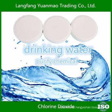 Chlordioxyd-Tabletten für Trinkwasser