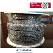 Flexible graphite packing
