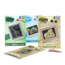 Youth Foil Painting Art Supplies Scratch Cards