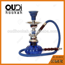 Atacado pequeno tamanho bonito abóbora vidro vaso shisha hookah