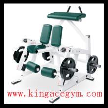 Equipo de gimnasio Equipo de ejercicios Comercial ISO-Lateral Rodilleras Curl