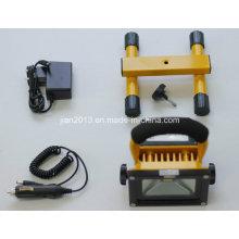 10W 4400mAh 10h LED Protable Floodlight
