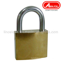 Golden Iron Padlock, Middle Type Normal Key, Cross Key (305B)