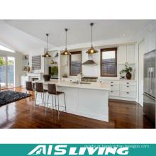 Mobília UV lustrosa alta australiana do armário de cozinha (AIS-K874)