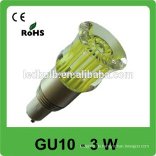 3w 6W 8W 9W LED Scheinwerfer führte Punktlicht gu10 geführte Birne, GU10 führte Punkt BIRNE 85-265v