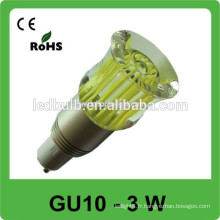 3w 6W 8W 9W LED Spotlight led spot light gu10 Ampoule led, GU10 spot led BULB 85-265v