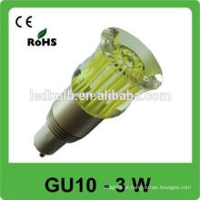 3w 6W 8W 9W LED Spotlight levou luz spot gu10 Led bulbo, GU10 levou spot BULB 85-265v