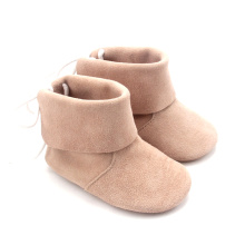 Pojkar Girls Toddler Baby Walking Leather Boots