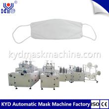 Mascarilla facial desechable 3D que hace la máquina