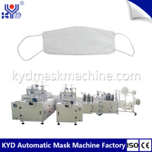 Máscara facial 3D descartável que faz a máquina