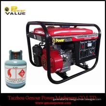 Home use portable gasoline generator industrial lpg generator