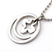 Simple design oval pendant jewelry