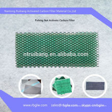 Diamond Fishing Mesh Aktivkohlefilter