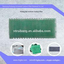 Filtre à charbon actif à mailles de pêche au diamant