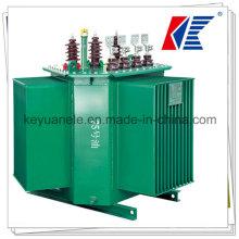 Fábrica de exportación S13 Tipo de aceite Transformador 10 ~ 4000kVA 11 / 33kv con control de temperatura