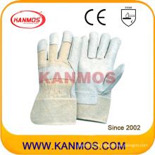 Verkaufen Schweinekorn Leder Arbeitsschutzhandschuhe (22004)
