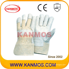Vendemos guantes de trabajo de seguridad de trabajo de cuero de grano de cerdo (22004)