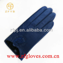 Navy fashion Goat skin glove