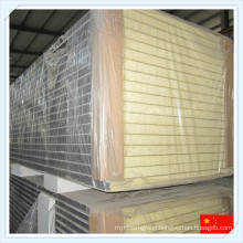 Heat-Insulated Fireproof Rigid PU Sandwich Panel