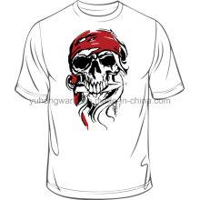 Heißes verkaufendes Qualitäts-Baumwollmänner druckte T-Shirt