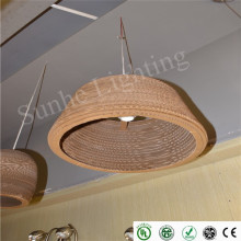 newest ceiling lamp sample classical wood material led ceiling light