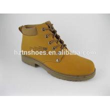 Männer / Frauen PU billige Arbeit Stiefel Camper Stiefel mit Injektion Außensohle