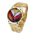 Luxury Men Gold Business Metal Wrist Watch