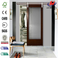 JHK-G01 Polycarbonate Glass Comfort Room Interior Sliding Door