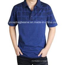 100% хлопок высокого качества Мужская рубашка поло
