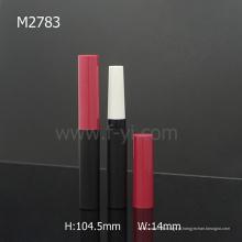 Cilindro Costura Cor Empty Moda Slim Lipstick Tube