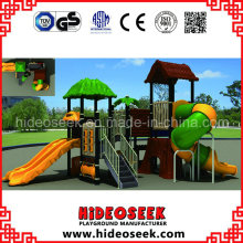 Natural Style Plastic Playground Equipment for School
