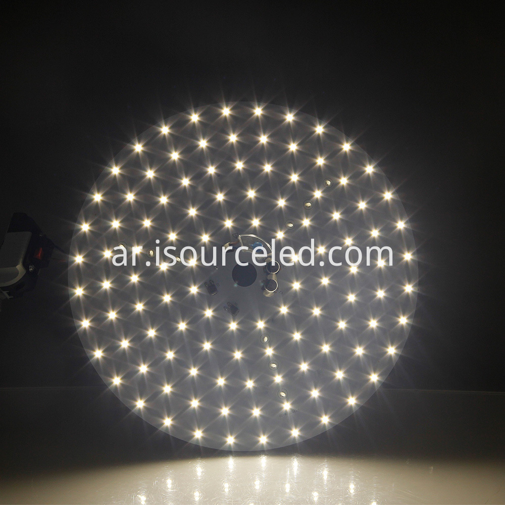 Luminescent Chart of Smd 2835 Warm White 35W AC LED Module