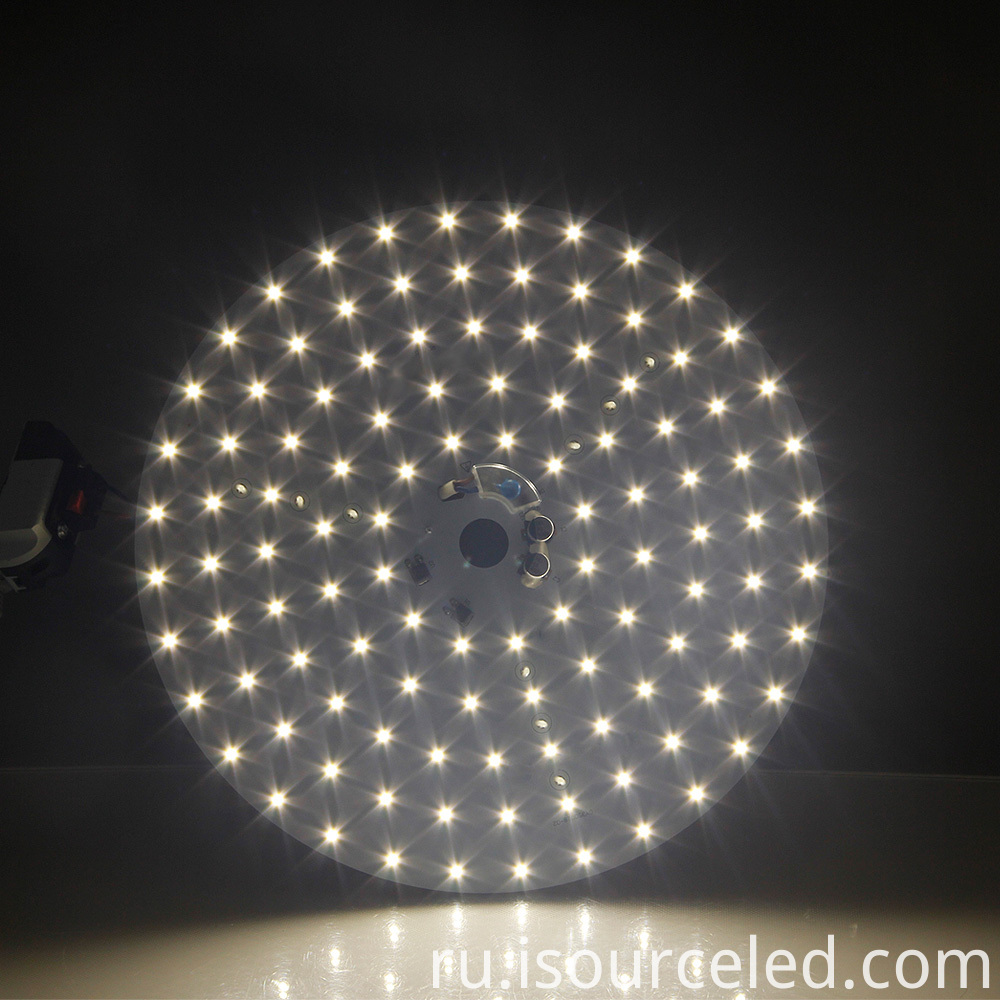 Luminescent Chart of 35W Warm White LED Roof Lamp Module
