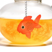 FDA Fish Shape New Silicone Material Tea Infuser