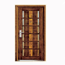 Turkey style steel wooden bullet proof armoured door