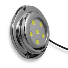 IP68 18W stainless steel E27 round DC 12V24V underwater boat light